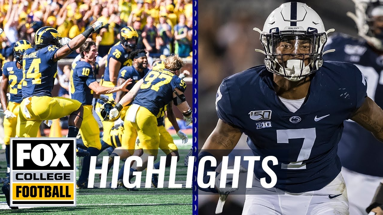 Week 2: Michigan escapes, Ohio State dominates, & Nebraska falls  COLLEGE FOOTBALL HIGHLIGHTS