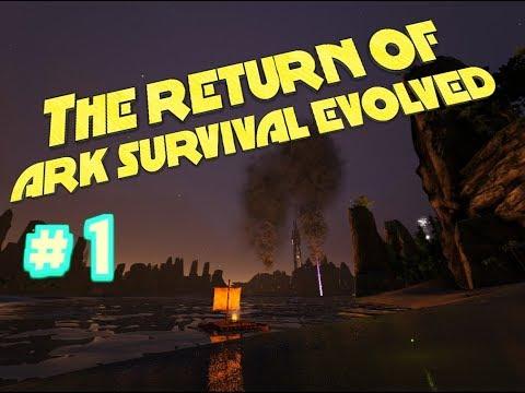 THE RETURN OF ARK SURVIVAL EVOLVED! - #1 A fresh feeling!