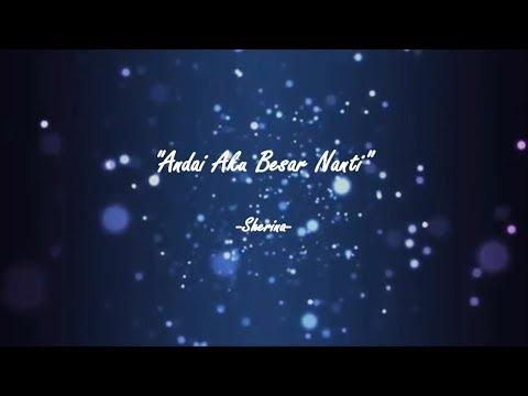 Sherina - Andai Aku Besar Nanti (Karaoke Instrumental + Lyrics)