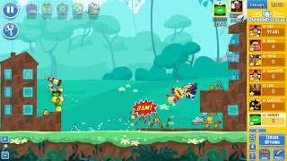 Angry Birds Friends Tournament 302-B Level 2 POWER UP Walkthrough