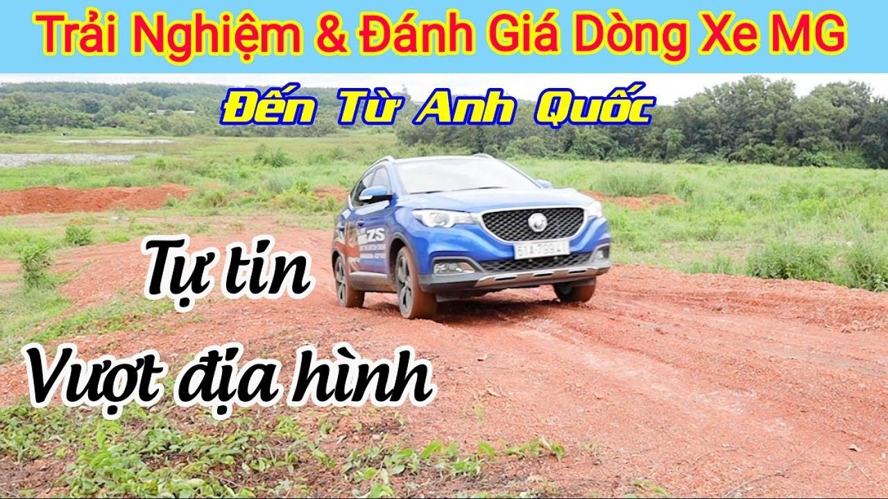 Đánh giá dòng xe MG - Tự tin Lùi xe quay đầu 180°, offroad vượt địa hình