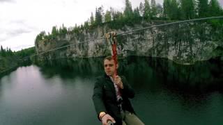Мраморный каньон РУСКЕАЛА тарзанка видео