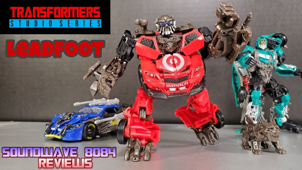 Transformers Studio Series 68 Leadfoot Review By Soundwave 8084