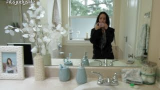 New Bathroom Tour! - January 18, 2013 - Itsjudyslife Vlog