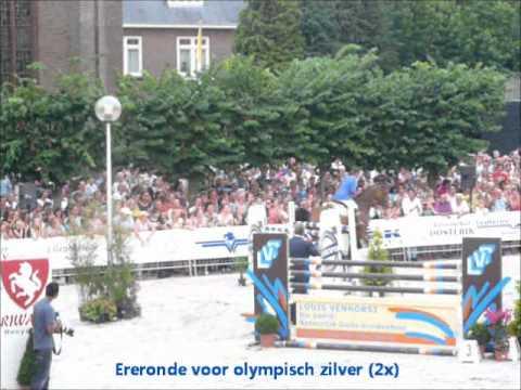 Zilveren Gerco Schröder in actie in Tubbergen