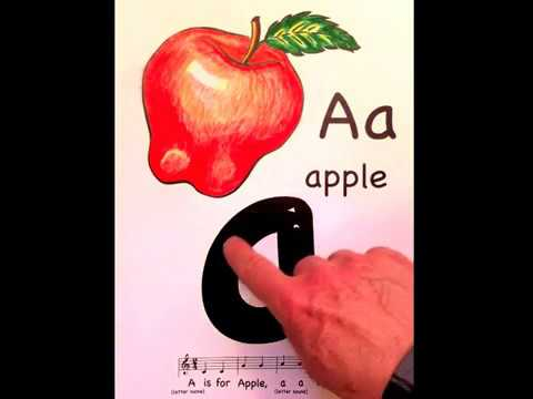 Alphabet video with all letters - Montessori based (entire video from Sing and Trace ABC eBook!)