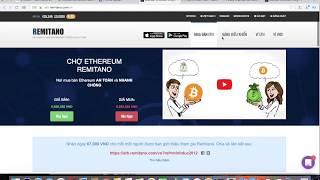 COINS-FREE: Hướng dẫn mua bán bitcoin, ethereum trên sàn remitano đơn giản nhất