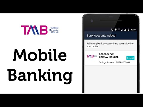 Tamilnad Mercantile Bank Mobile Banking using App - YouTube