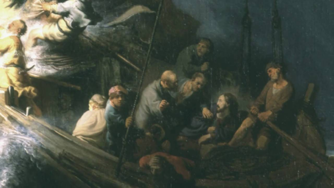 The storm on the sea of galilee by rembrandt van rijn youtube the storm on the sea of galilee by rembrandt van rijn youtube publicscrutiny