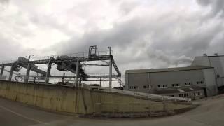 石垣島の製糖工場