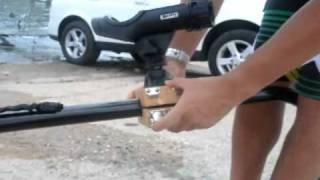 Diy: Rod Holder Clip With Trolling System For Hobie Tandem Island.