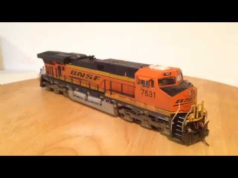 Motive Power Overview - BNSF ES44DC #7631