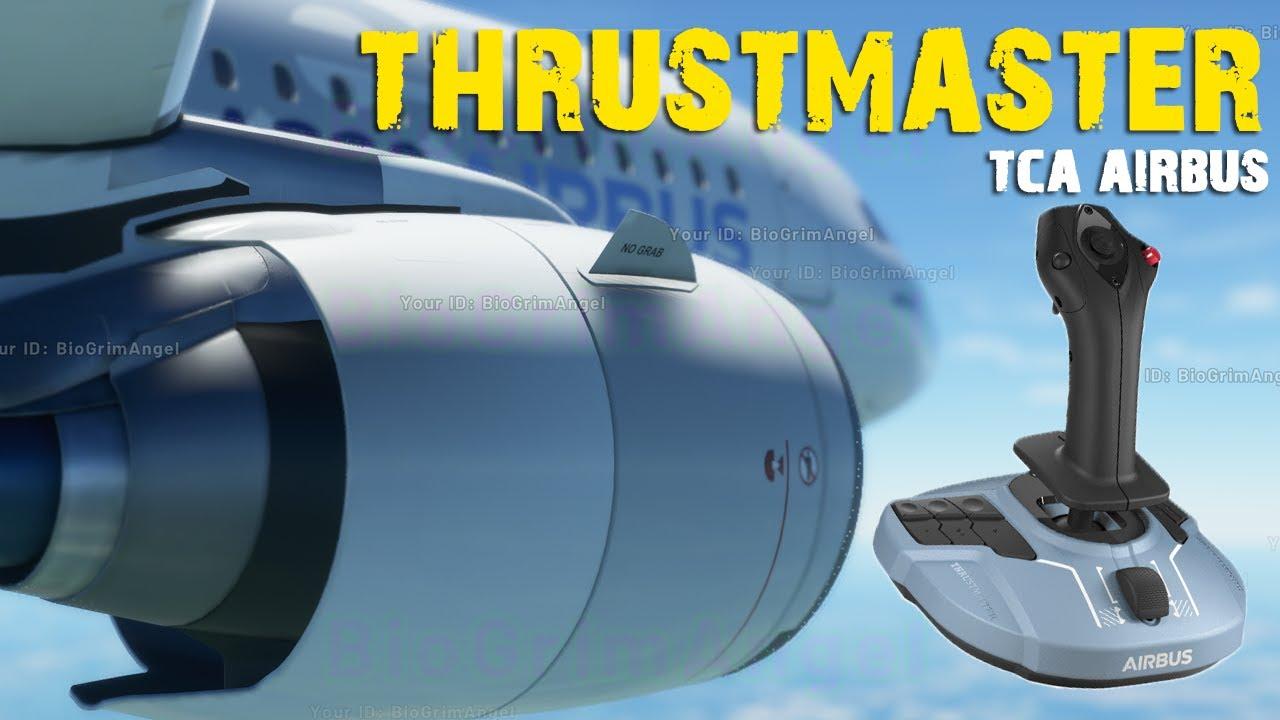 THRUSTMASTER TCA Airbus Unboxing + Prueba en Flight Simulator 2020