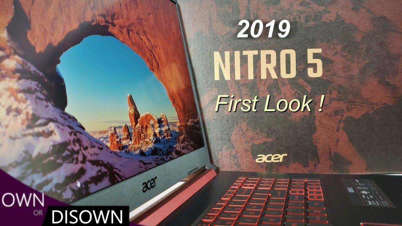 2019 Acer Nitro 5 - GTX 1650 First look -Best Laptop under $900 ?