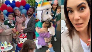 TILSA LOZANO celebró el 1er año de su hijo Massimo/con Mig...