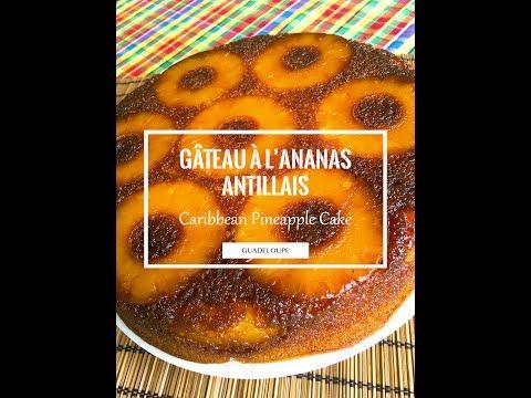 gâteau-à-l'ananas-antillais
