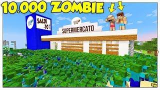10.000 ZOMBIE ATTACCANO IL SUPERMERCATO! - Minecraft ITA