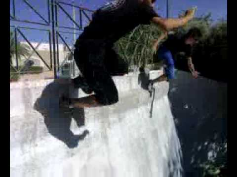 Alezio parkour e freerunning Freek e Angel