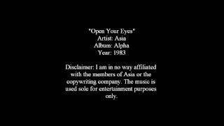 Watch Asia Open Your Eyes video