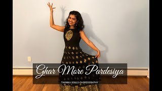 Ghar More Pardesiya | Easy Sangeet Dance Steps | Kalank | Thumka Souls Choreography