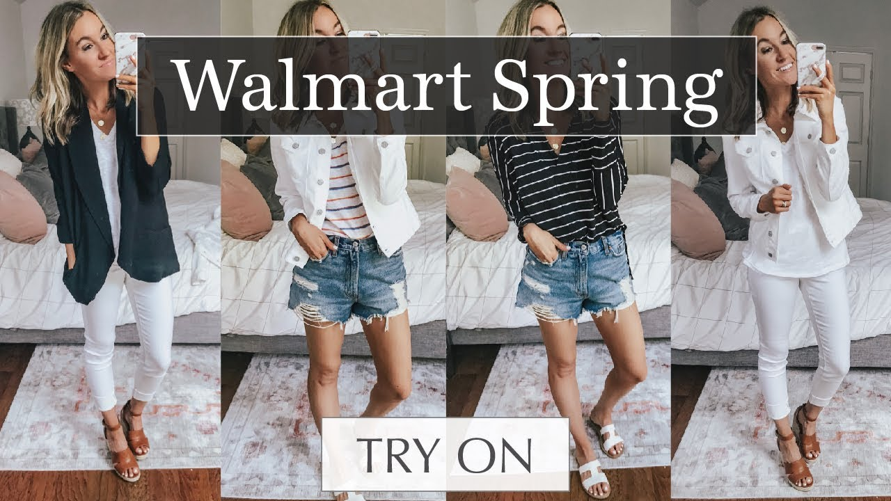 718c18c4792c Affordable Walmart Try On Haul