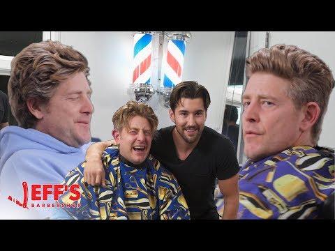 OLD MAN SHOCKED BY NEW HAIRCUT - Jason Nash   Jeff's Barbershop