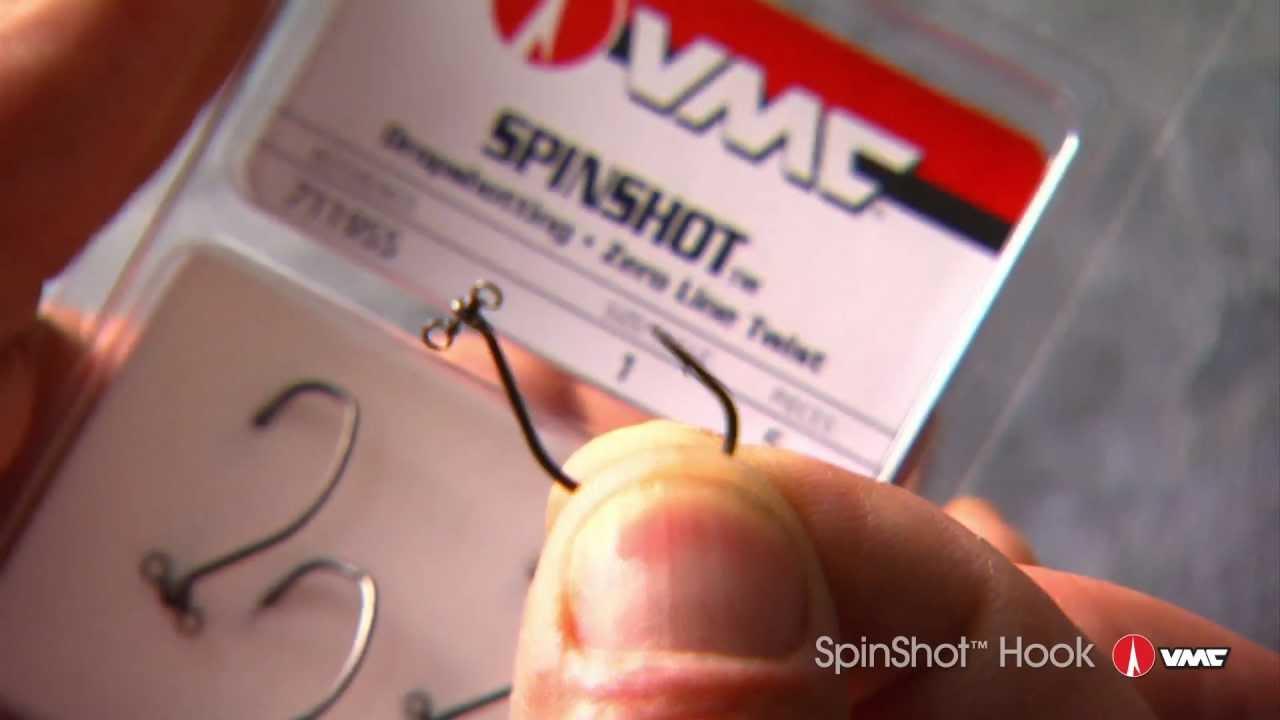 VMC Spinshot Drop Shot Haken Wide Gap 360°