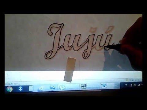 Passo A Passo Letra Cursiva Em E V A Youtube