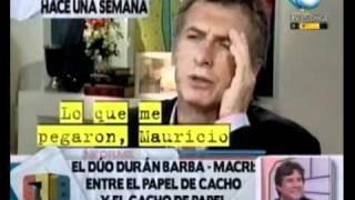 678 - El dúo Duran Barba - Macri entre el papel de cacho y el cacho de papel 25-01-2011