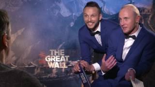 Matt Damon Interview for The Great Wall