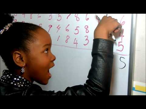 (#1 of 3) 7-year-old Polyglot MABOU LOISEAU Teaches a Math Class: Addition, Fraction, Algebra, Etc.
