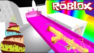 THE BEST CAKE EVER!! Roblox Lets Make A Cake!