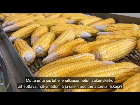 How conventional mounted bearing units can risk food safety (with Finnish subtitles)