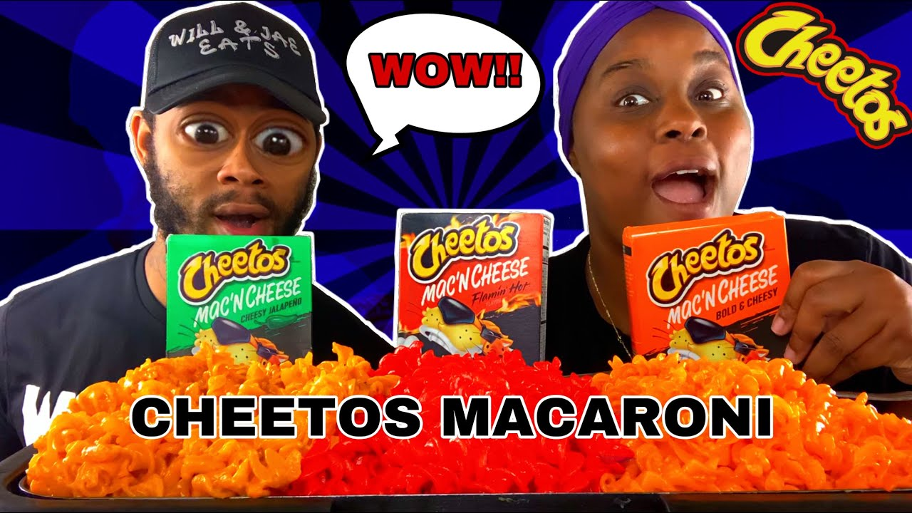 TRYING ALL THE NEW CHEETOS MAC N CHEESE/ REVIEW/TASTE TEST!