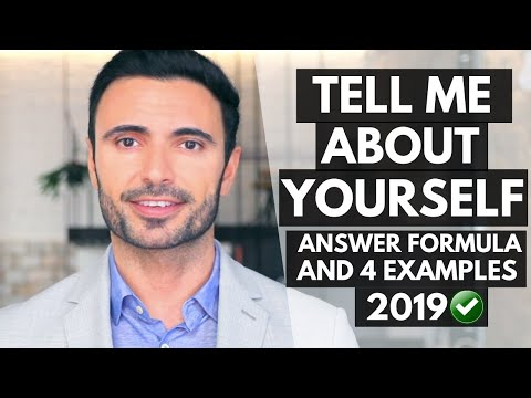 Tell Me About Yourself - Response Formula and 4 Great Answers to This Interview Question
