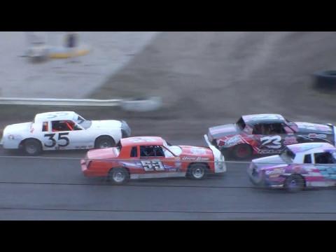 Nodak Speedway IMCA Hobby Stock B-Main (5/14/17)