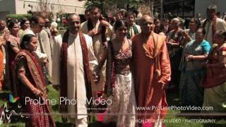 Indian Wedding Ceremony Entrance at Doubletree Somerset Hotel, NJ (Ruju and Jay)