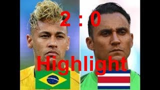 Live Brazil vs Costa Rica Match |World Cup 2018|Football Live Score| Goals with MiKi TV