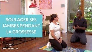 Soulager ses jambes pendant la grossesse - La Maison des maternelles #LMDM