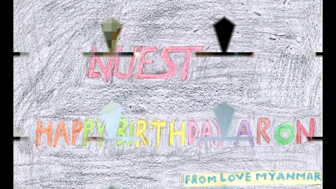 aron oppas sweet birthday love letter and myanmar love story youtube