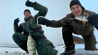 Моя первая зимняя рыбалка в 2016. Первый лед в середине зимы :)(Друзья, это моя первая рыбалка на льду в этом году, еле заставил себя выбраться, честно сказать. Но как оказа..., 2016-12-25T14:09:32.000Z)