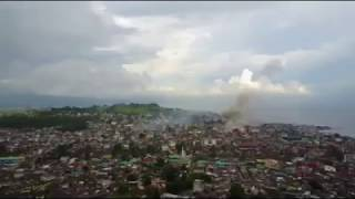 Philippine Air Force FA-50 Conducted Air Strike on Maute Terrorist Group Position in Marawi City