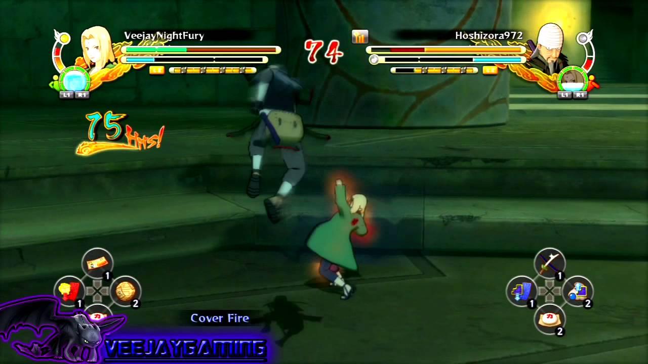 NARUTO Shippuden Ultimate Ninja Storm 3|Tsunade Is Soo ...