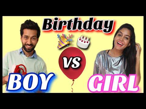 Boys VS Girls : On Birthdays   feat. Nakuul Mehta   Ishqbaaz thumbnail