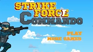 Strike Force Commando - Combat Action Arena Commando Games