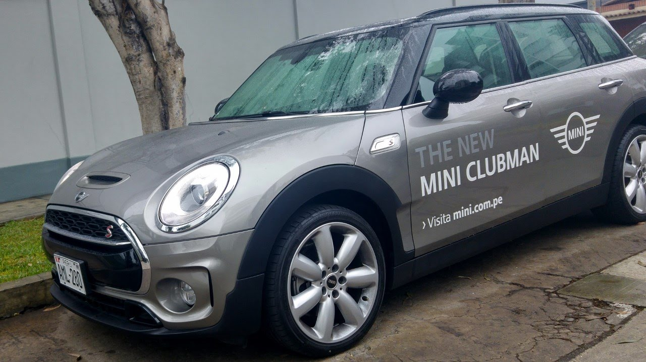 Mini Clubman S 2016 Prueba De Manejo Youtube