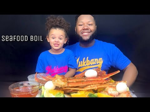 SEAFOOD BOIL WITH Dippin Dash Butter Sauce