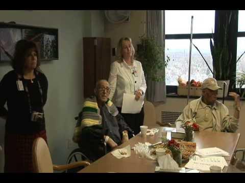 USS Freedom Sailors Visit Buffalo VA Hospital