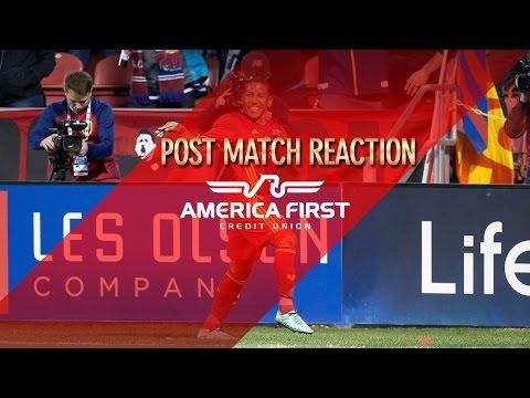 Real Salt Lake vs Colorado Rapids, Postgame Reaction: Joao Plata