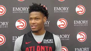 Backdoor Cut: Atlanta Hawks Cam Reddish post-practice presser (10.21.19)